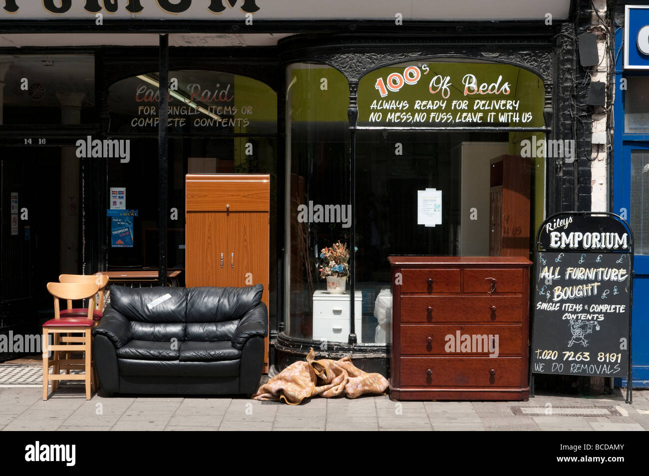 Picture of: Second Hand Furniture Shop High Resolution Stock Photography And Images Alamy