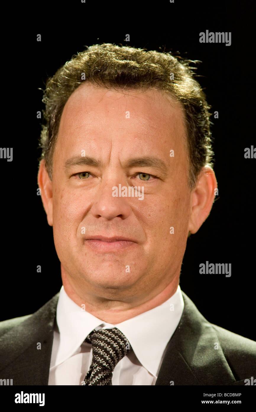 American Hollywood superstar celebrity actor Tom Hanks. - Stock Image