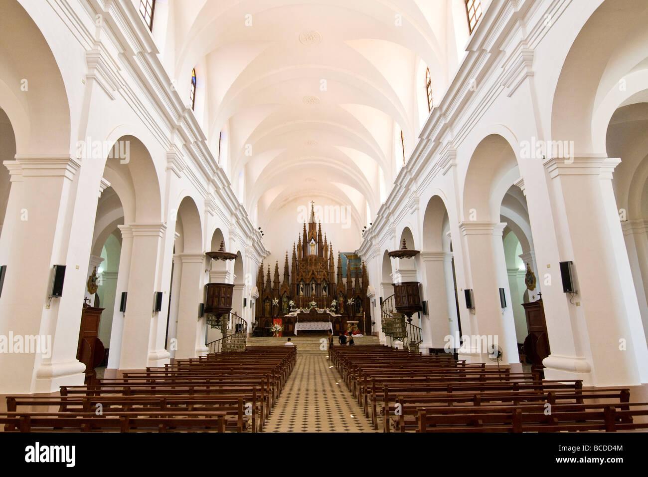 cuba trinidad iglesia parroquial de la santisima trinidad - Stock Image
