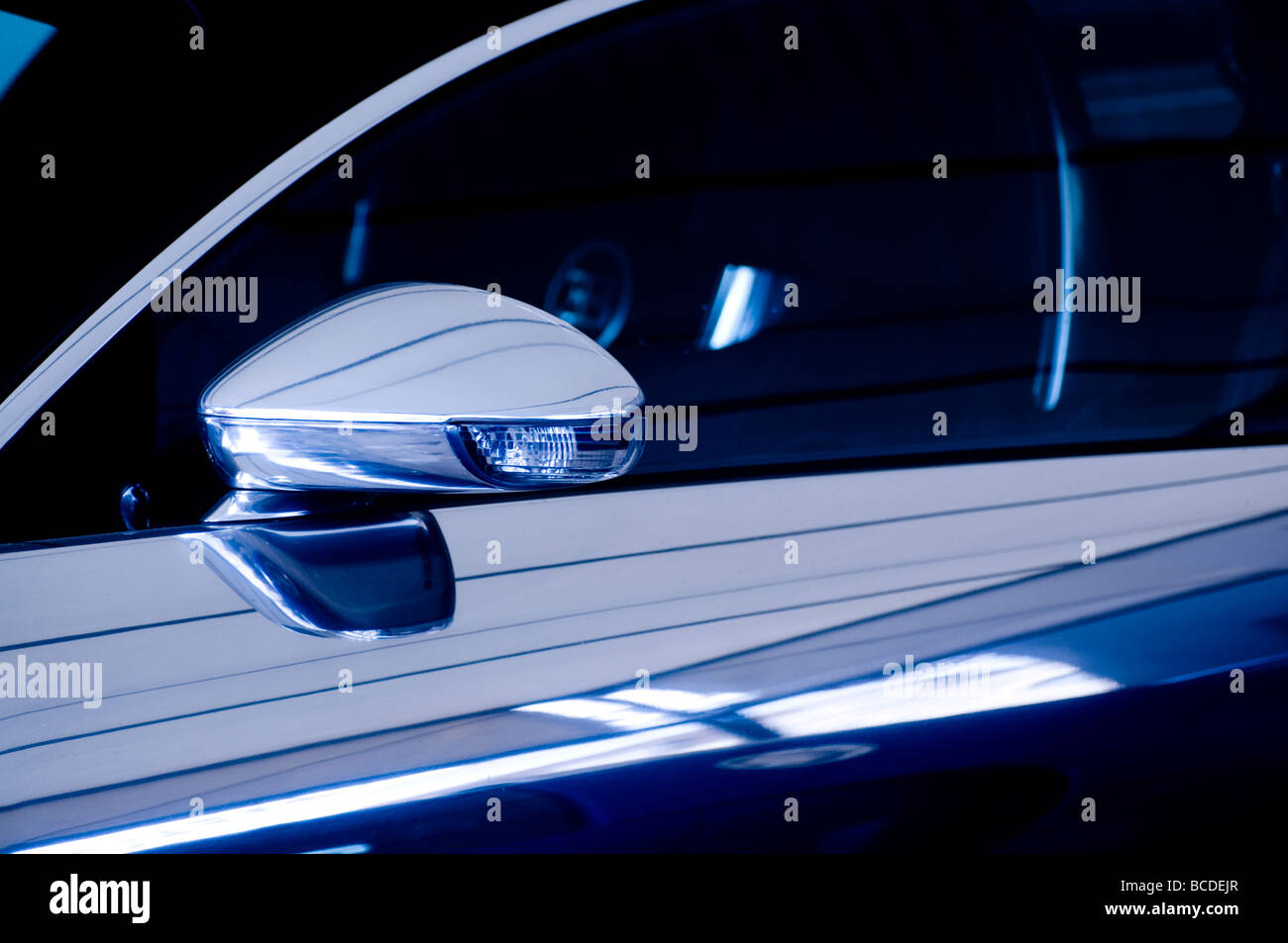 new car - Stock Image
