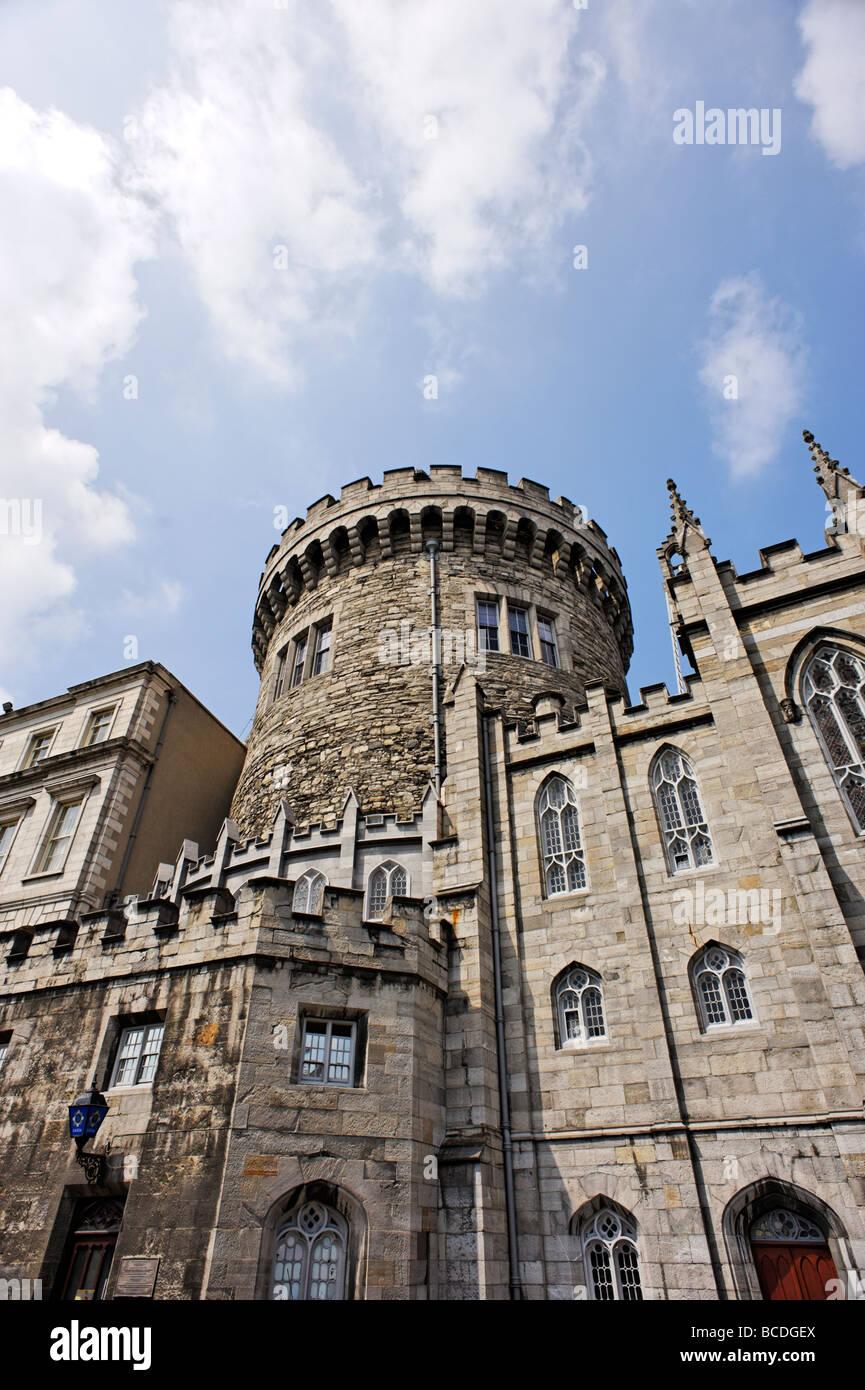 Record Tower at Dublin Castle Dublin Republic of Ireland - Stock Image