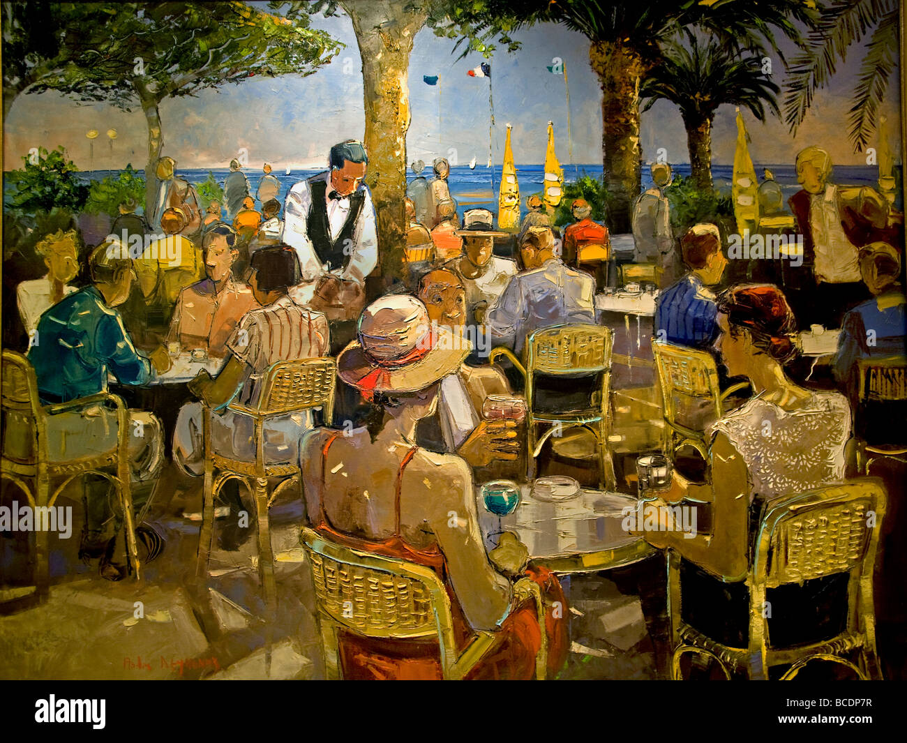 Restaurant Painting Famous
