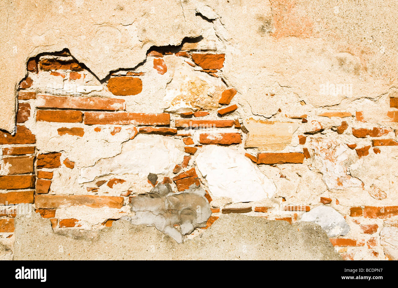 Old brick wall Texture or backgrond Stock Photo