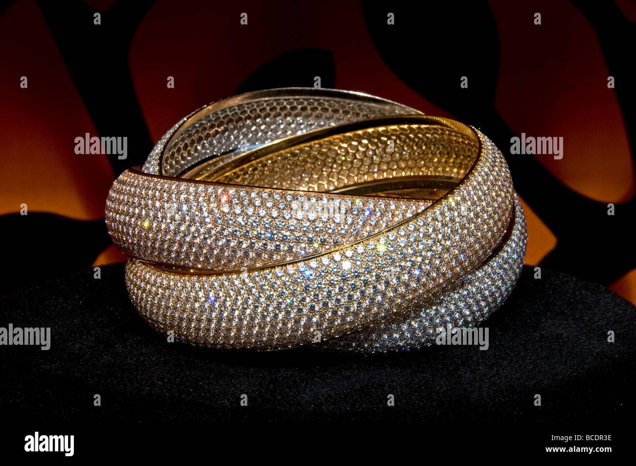 Cartier Place Vendome Paris France  jeweler jewel - Stock Image