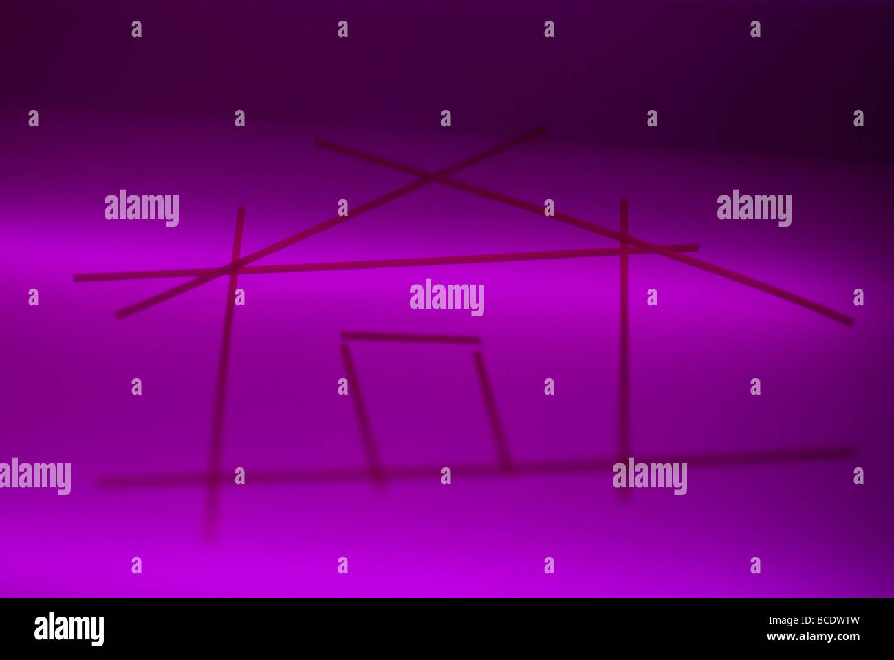 home page simbol. Internet web site design - Stock Image