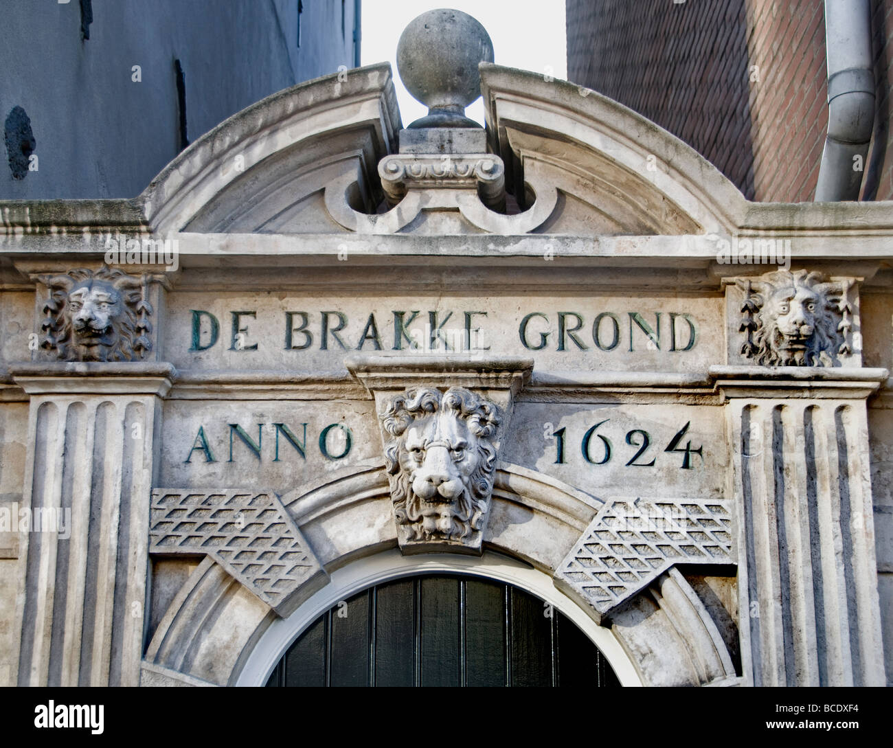 De Brakke grond Amsterdam act acting drama comedy - Stock Image