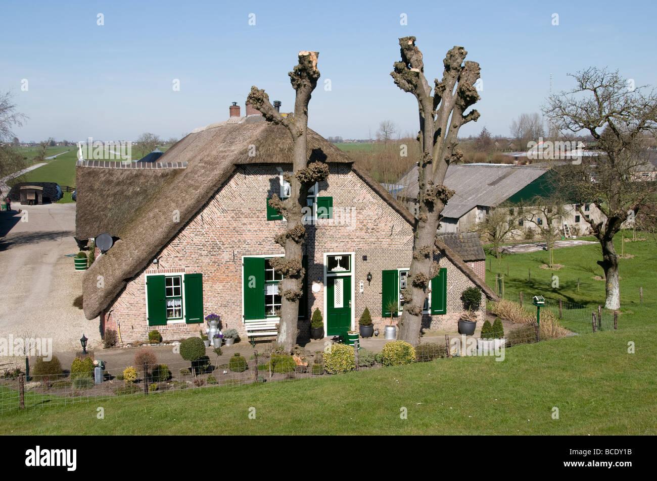 Schoonhoven Lek Silver town Netherlands Holland - Stock Image