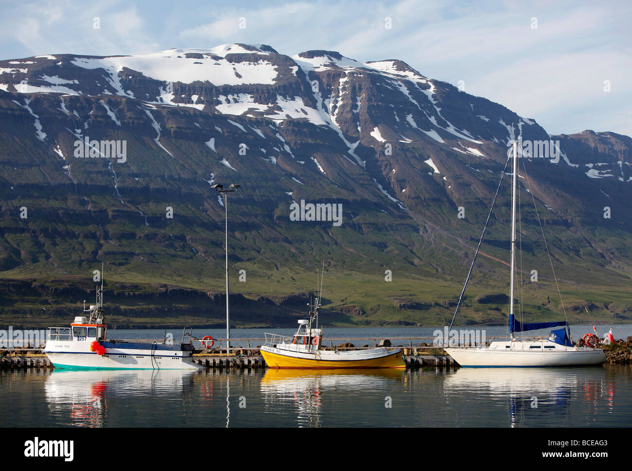 Seyðisfjörður, Iceland - Stock Image