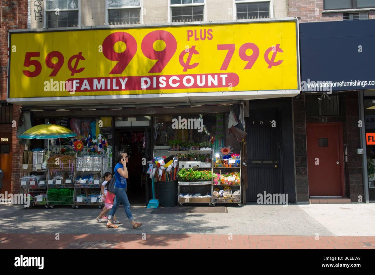 A Ninety Nine Cent Store In Bushwick Brooklyn New York