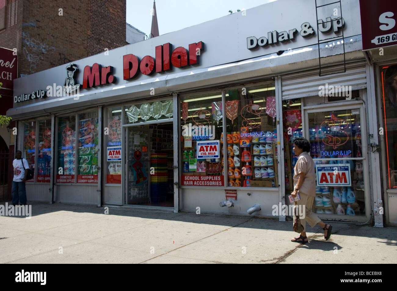 A Mr Dollar Store In Bushwick Brooklyn New York