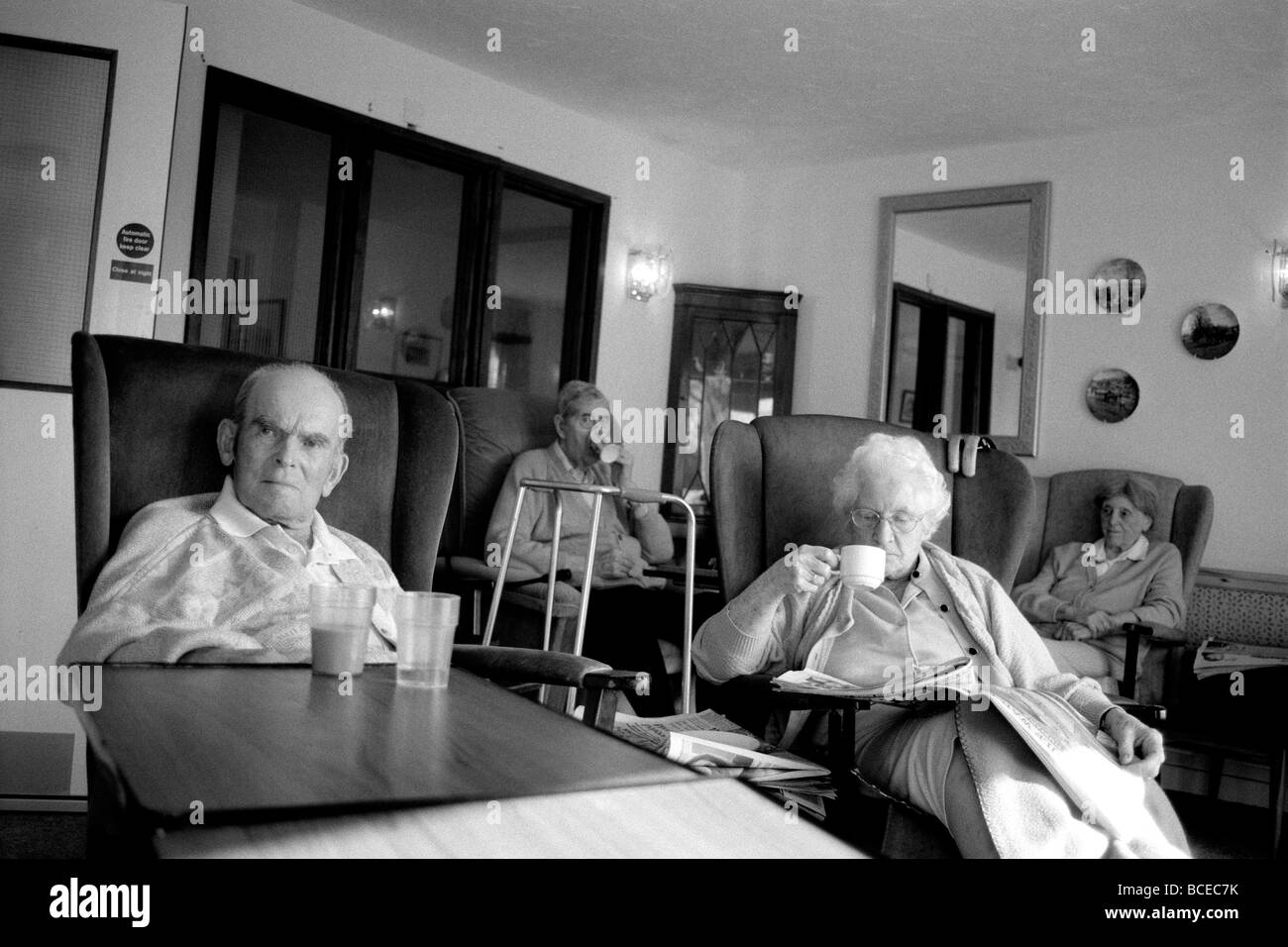 Image of: Worried Elderly People At An Old Peoples Home In England Stock Image Alamy Old Peoples Home Sad Stock Photos Old Peoples Home Sad Stock