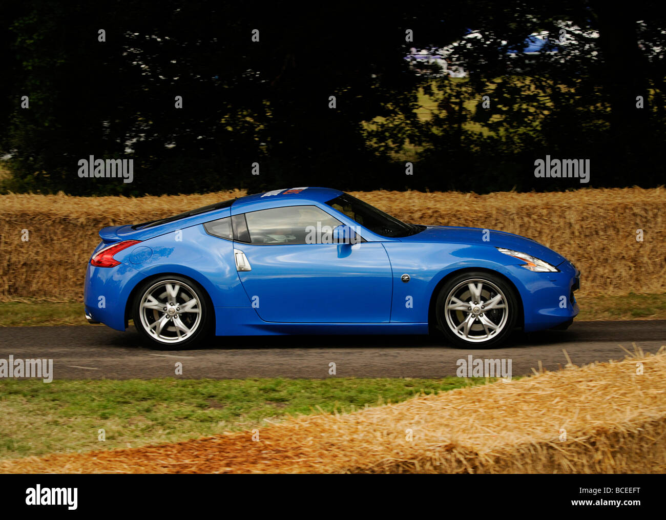 Nissan 370Z At 2009 Goodwood Festival Of Speed   Stock Image