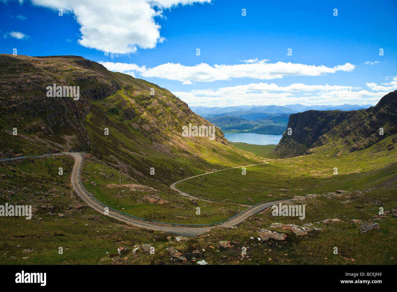 Apple Id Reset Email >> Pass of the cattle near Applecross, Wester Ross, Scotland, West coast Stock Photo: 24908277 - Alamy