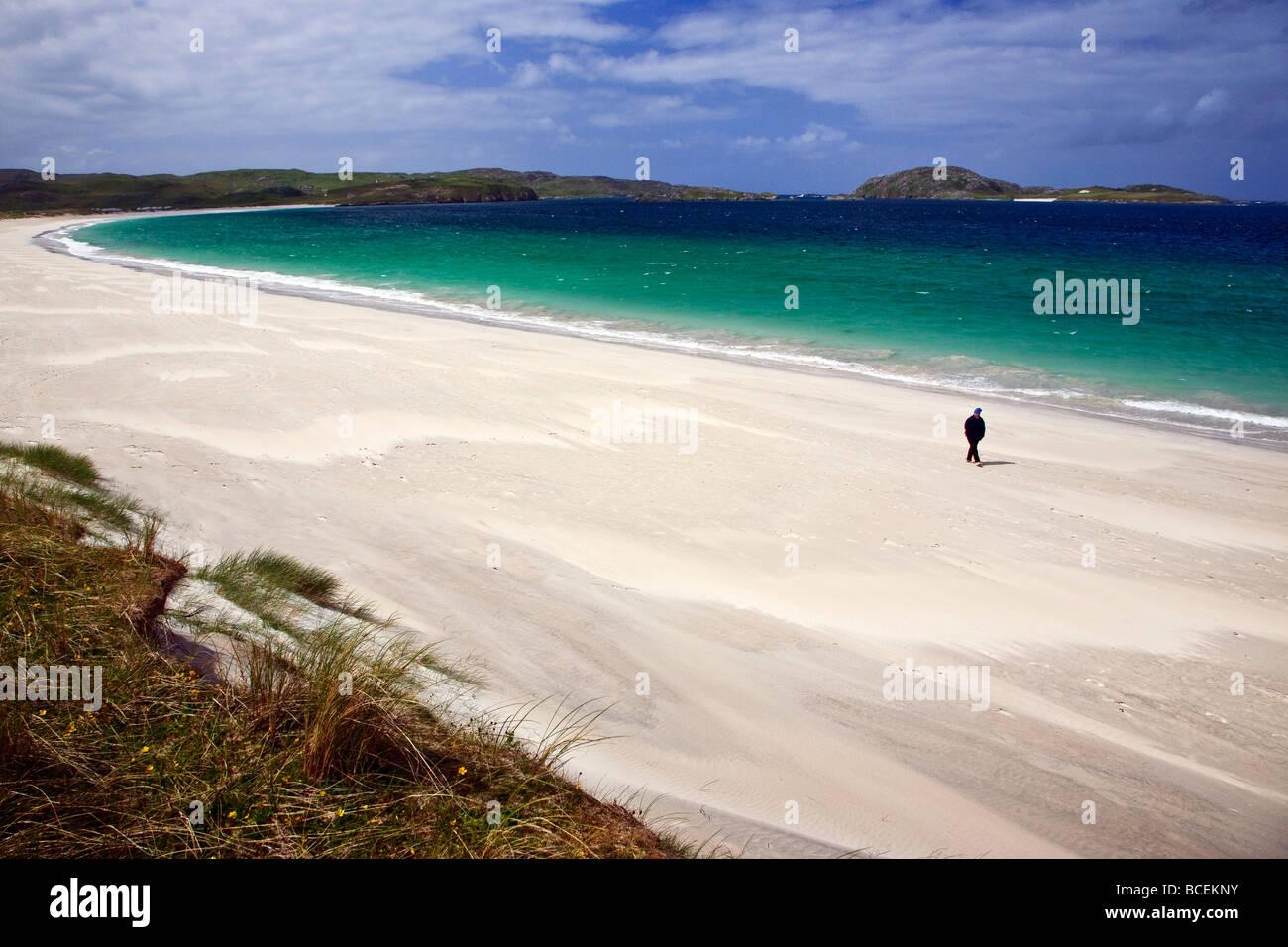 Reef Beach Isle of Lewis, Outer Hebrides, Western Isles, Scotland UK 2009 - Stock Image