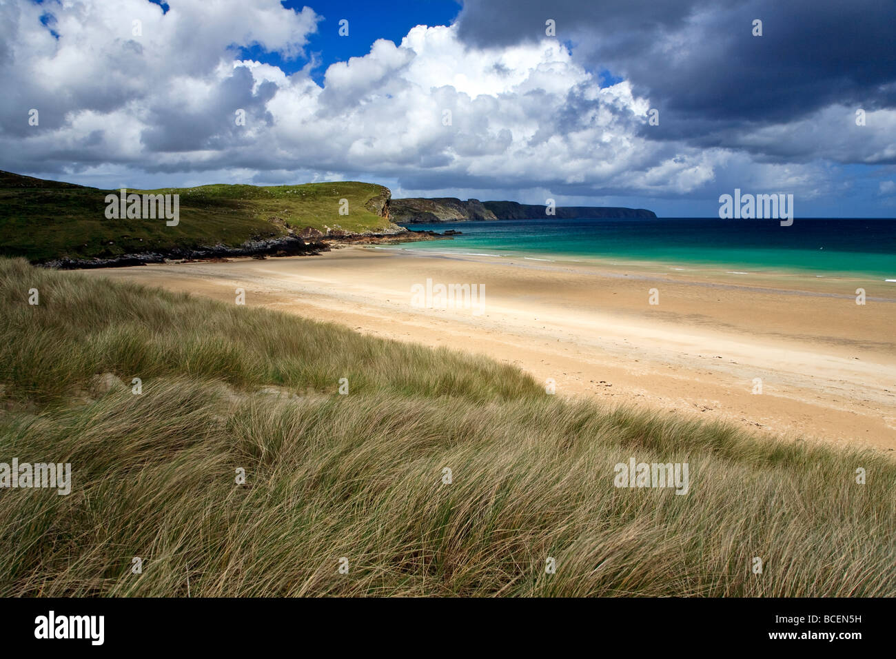 Traigh Mhor Tolsta beach Isle of Lewis, Outer, Hebrides, Western Isles, Scotland UK 2009 - Stock Image