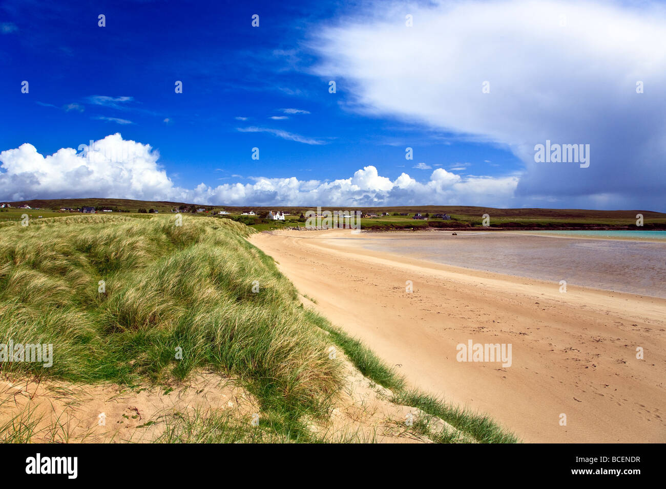 Traigh Ghriais, Broad Bay beach Isle of Lewis, Outer, Hebrides, Western Isles, Scotland UK 2009 - Stock Image
