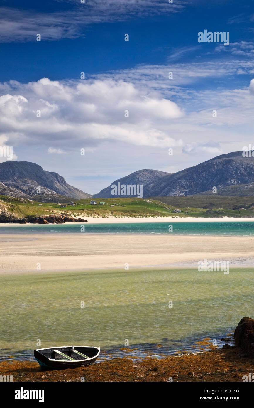 Uig Sands, Isle of Lewis, Outer Hebrides, Western Isles, Scotland. UK - Stock Image