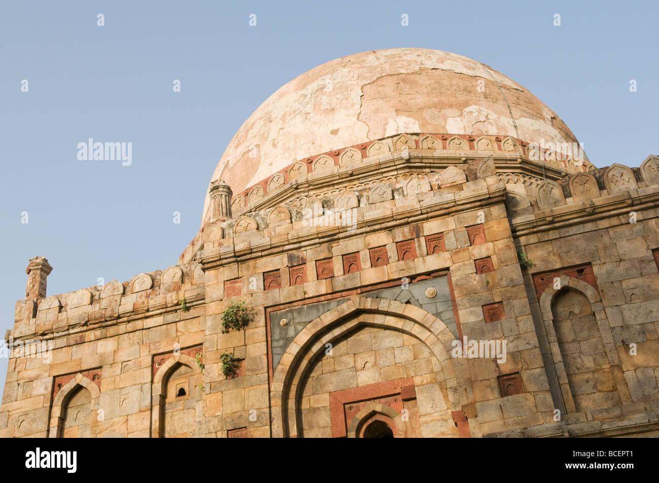 A tomb in Lodi Garden New Delhi India - Stock Image