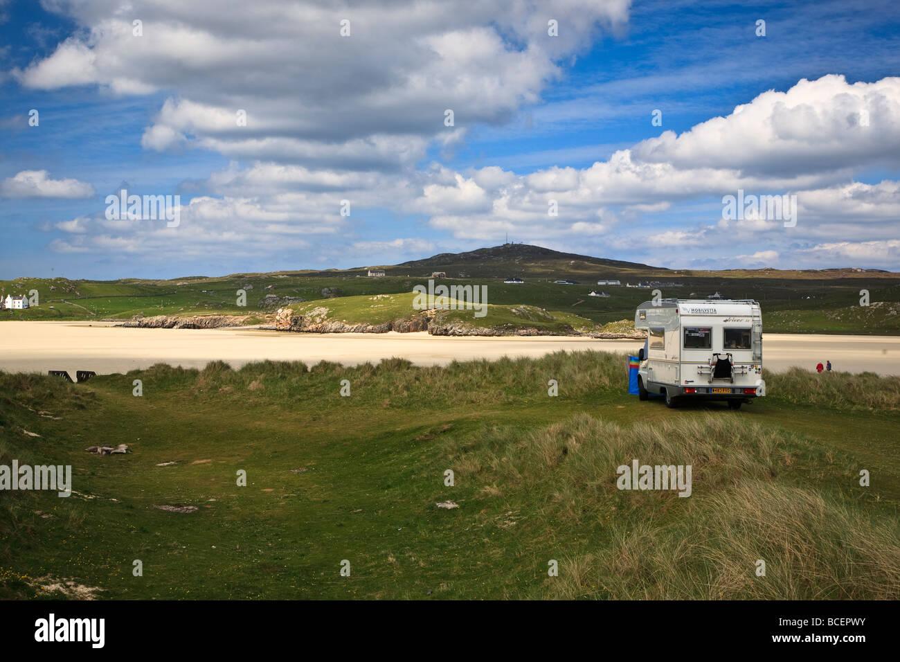 Uig Sands, Isle of Lewis, Outer Hebrides, Western Isles, Scotland. UK - Stock Image