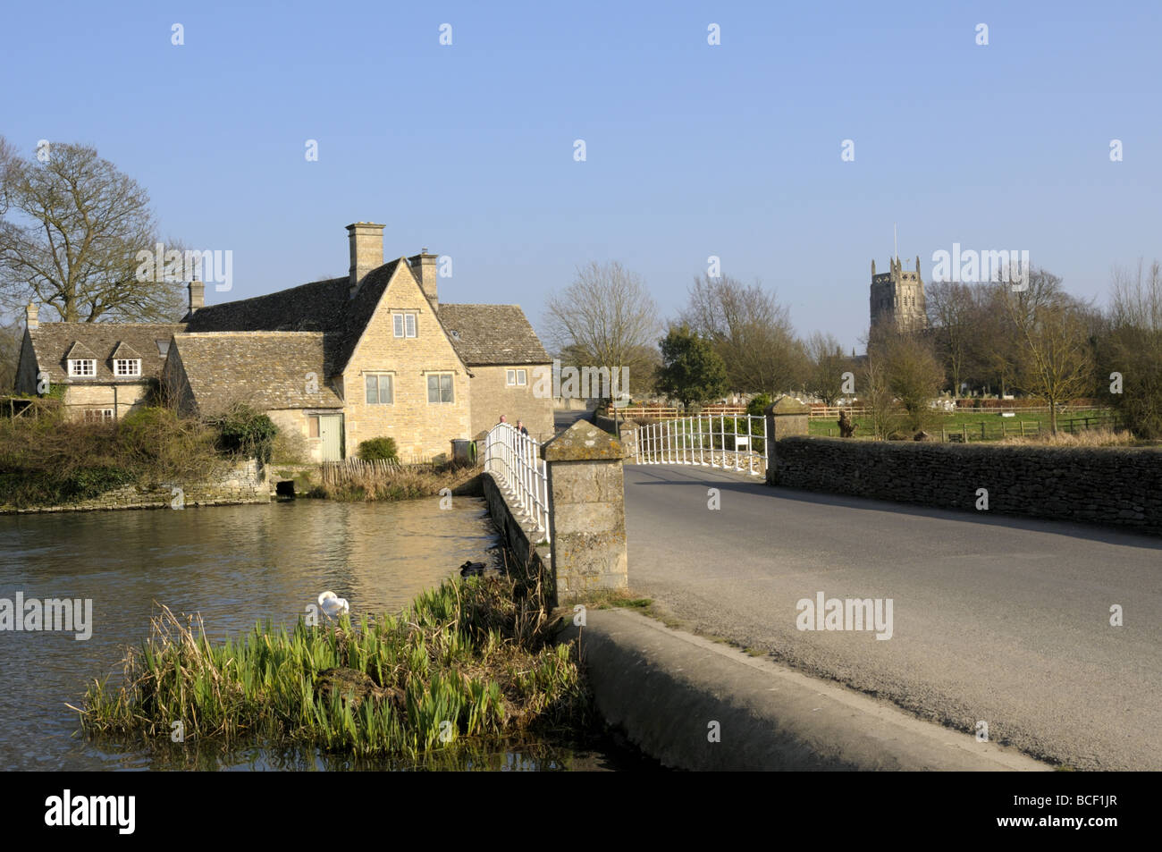 Fairford, Gloucestershire, England - Stock Image