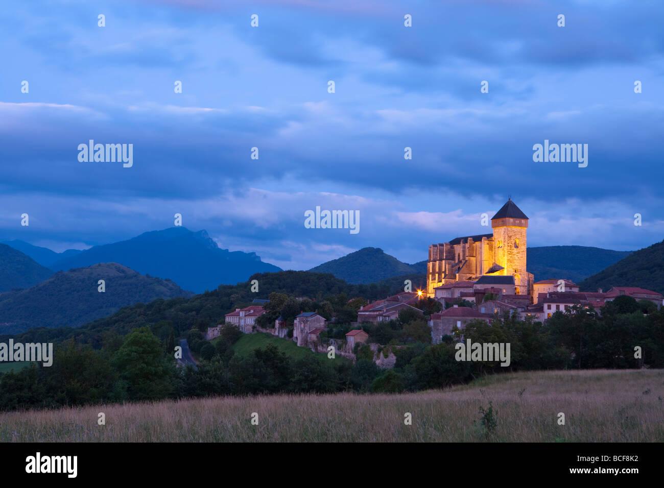 St Bertrand De Comminges, Haute-Garonne, Midi-Pyrenees, France - Stock Image