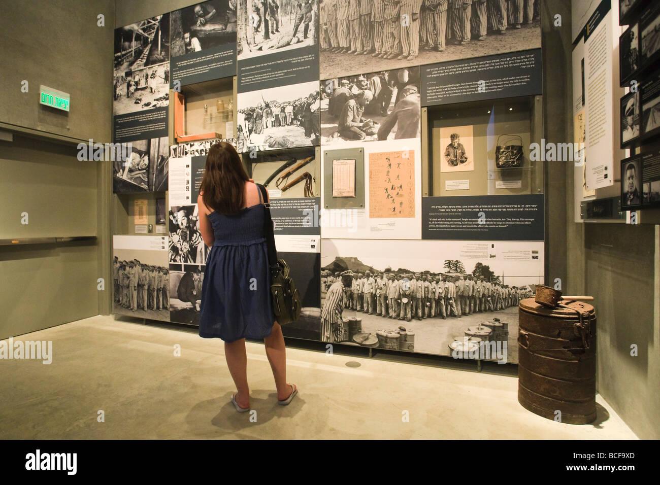 The New Yad Vashem Museum, Jerusalem, Israel - Stock Image