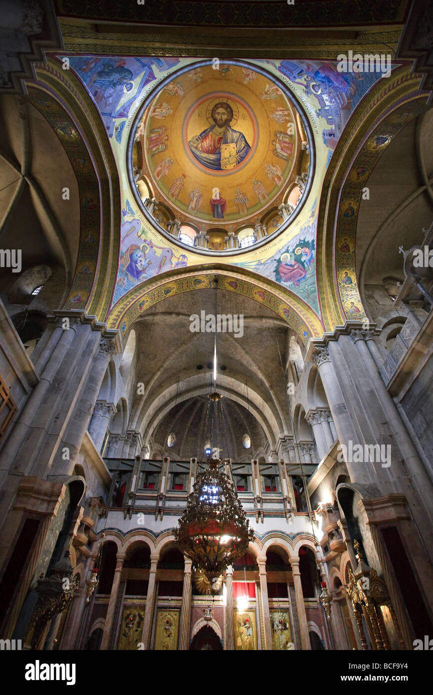 Church of the Holy Sepulchre, Jerusalem, Israel - Stock Image