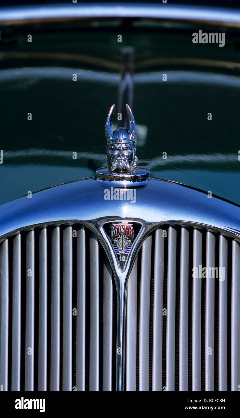 Rover 12 vintage car - Stock Image