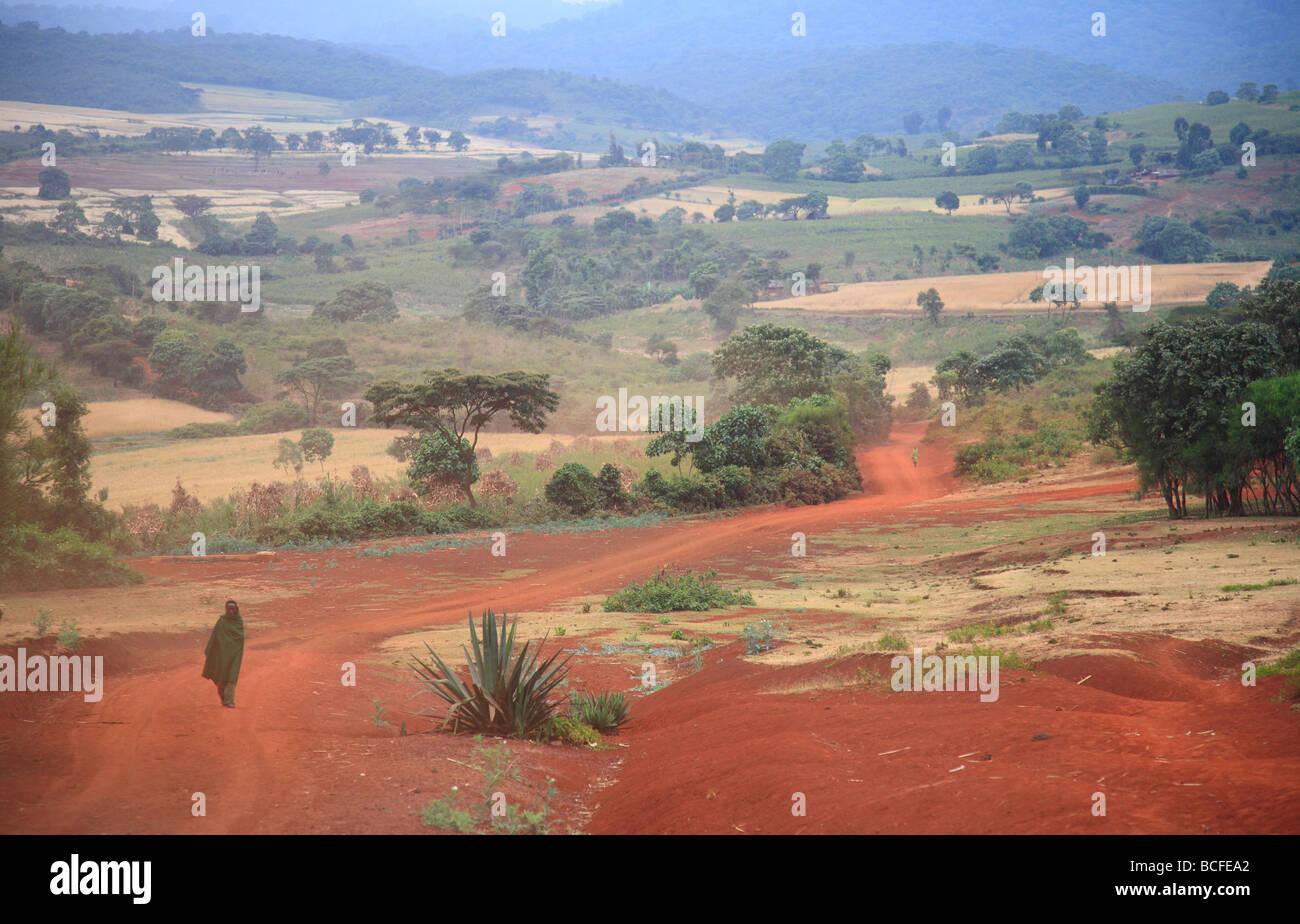 Rift Valley, Tanzania Stock Photo