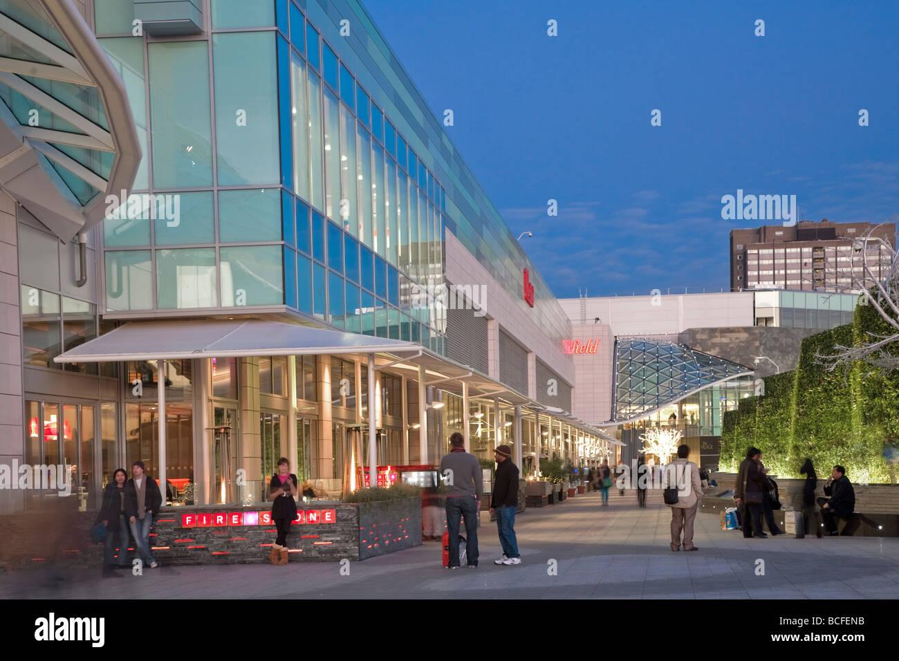 England, London, Shepherds Bush, Westfield shopping centre - Stock Image