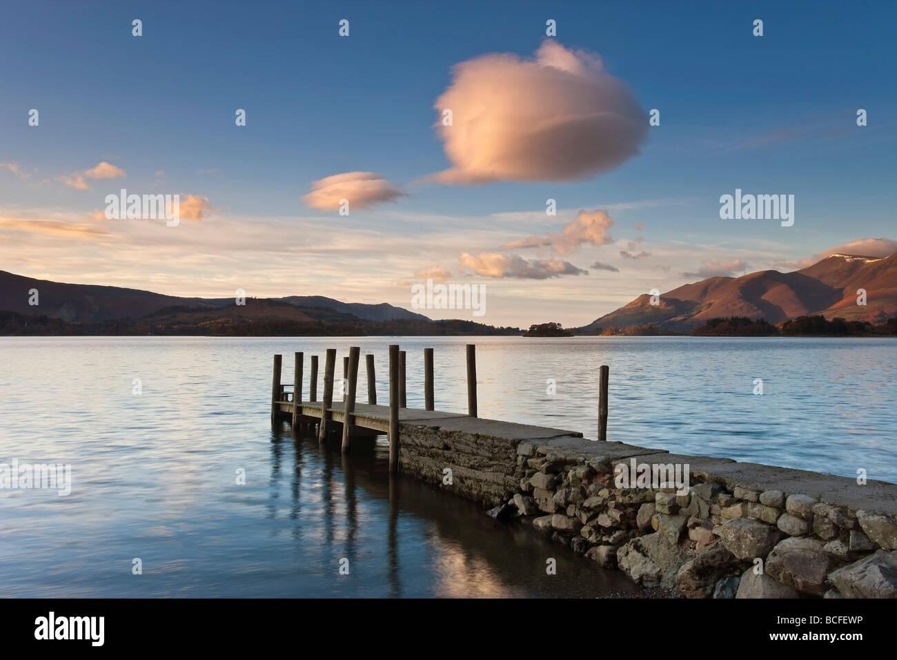 Barrow Bay, Derwent Water, Lake District, Cumbria, England - Stock Image