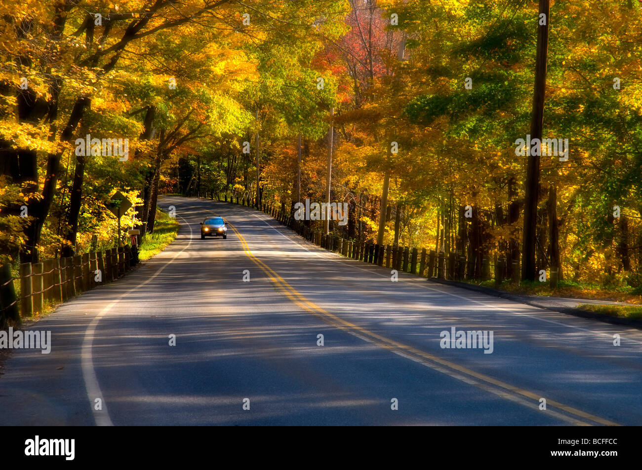USA, Connecticut, Litchfield County - Stock Image