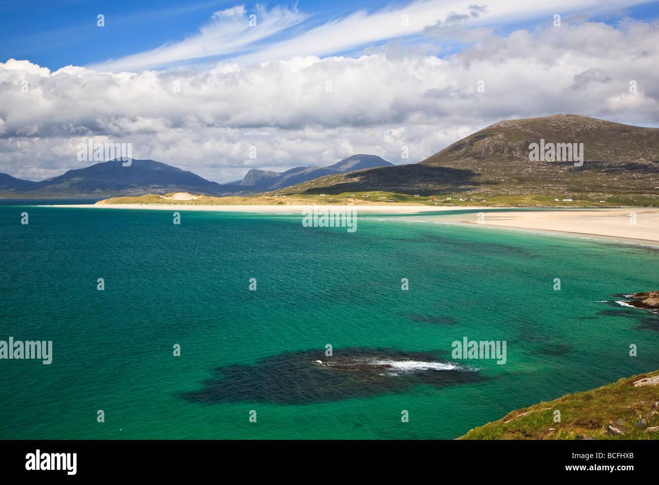 Seilebost beach Isle of Harris,Outer Hebrides, western isles, Scotland, UK 2009 - Stock Image