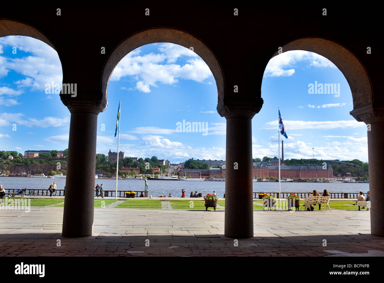 Stadhuset, City hall, Stockholm (Sweden) - Stock Image