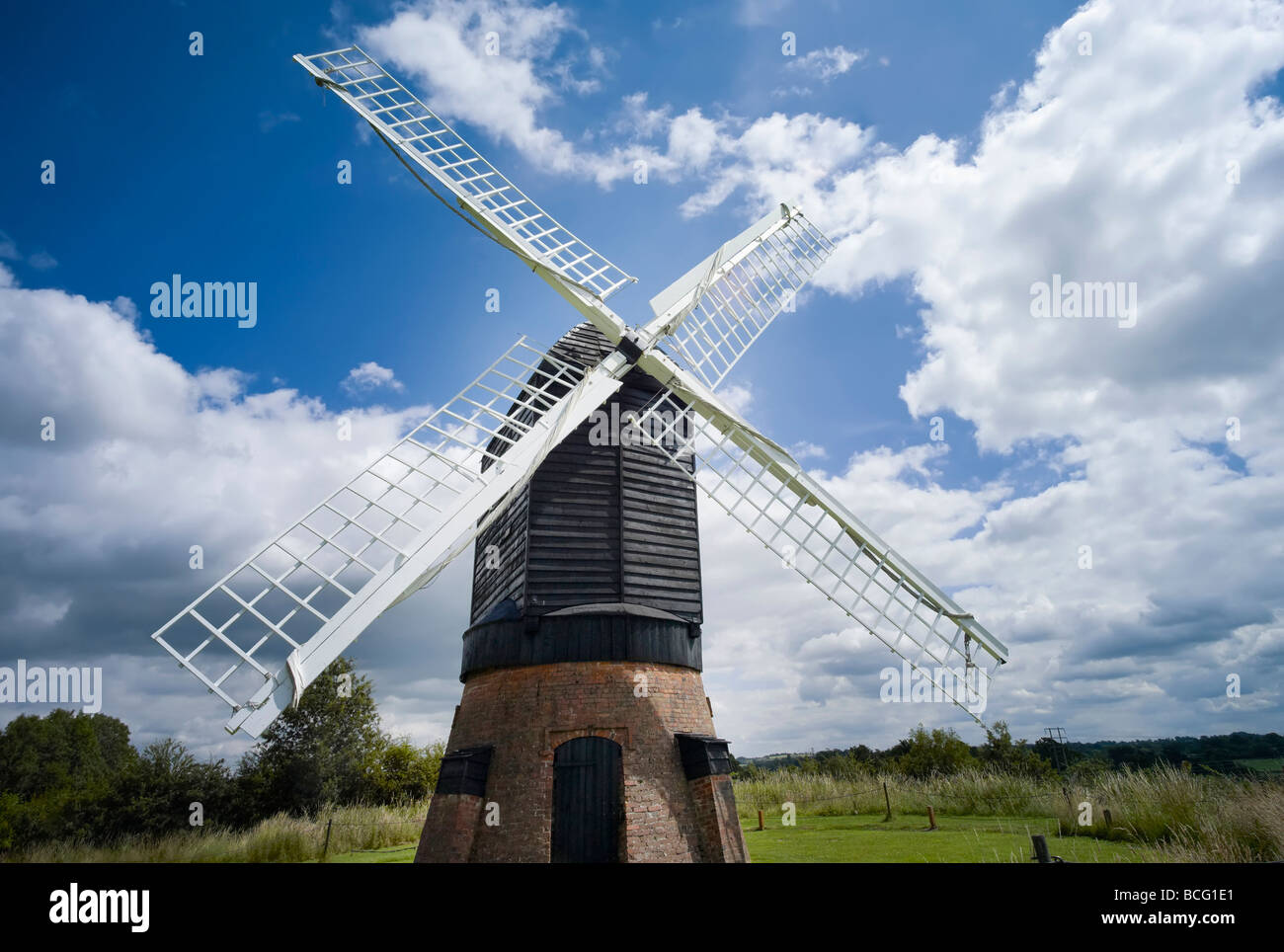 Worcestershire Bromsgrove Buildings Historic Museum Avoncroft preservation Heritage History preserved 19th nineteenth - Stock Image