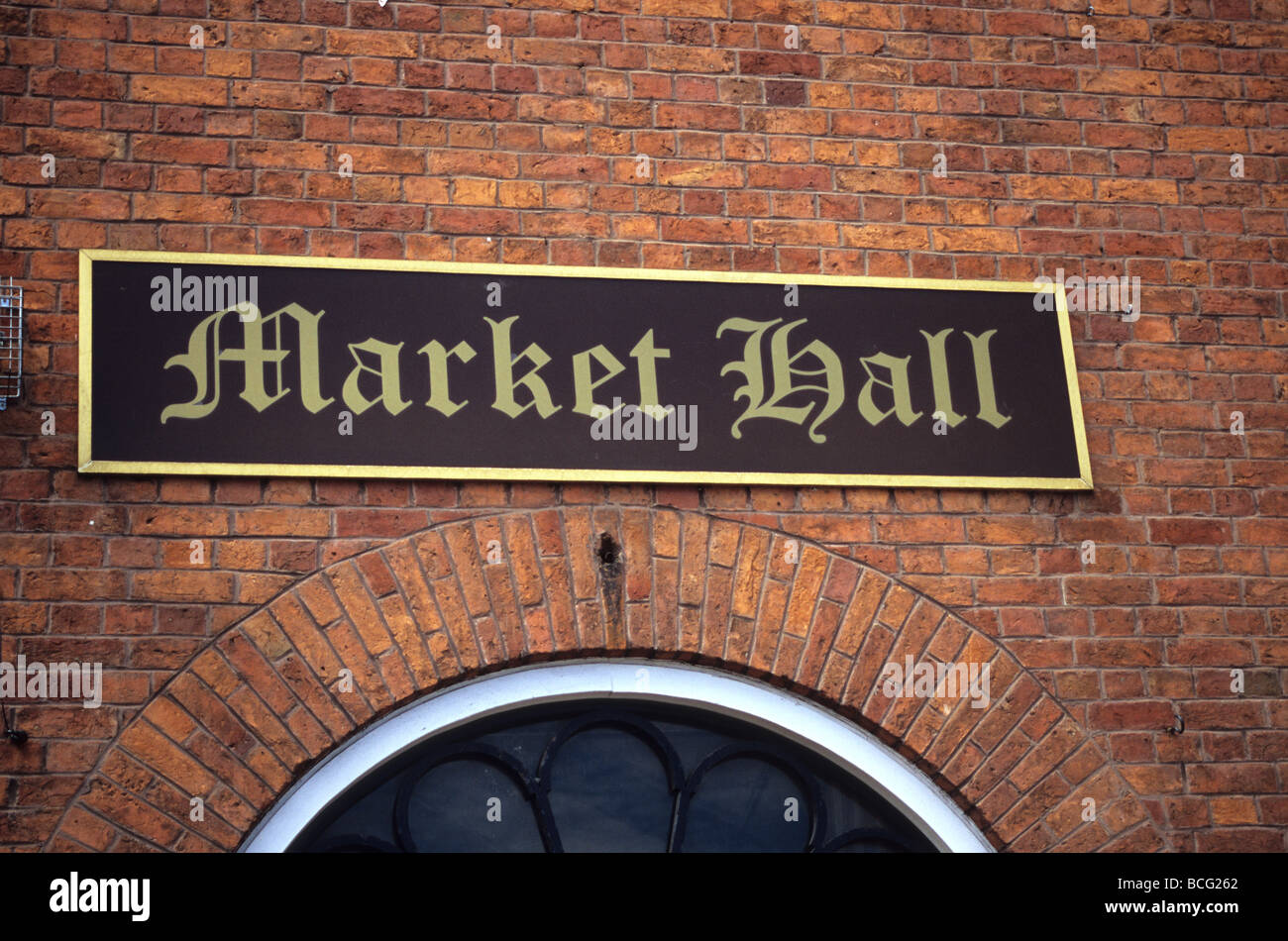 The Market Hall In Sandbach, Cheshire - Stock Image