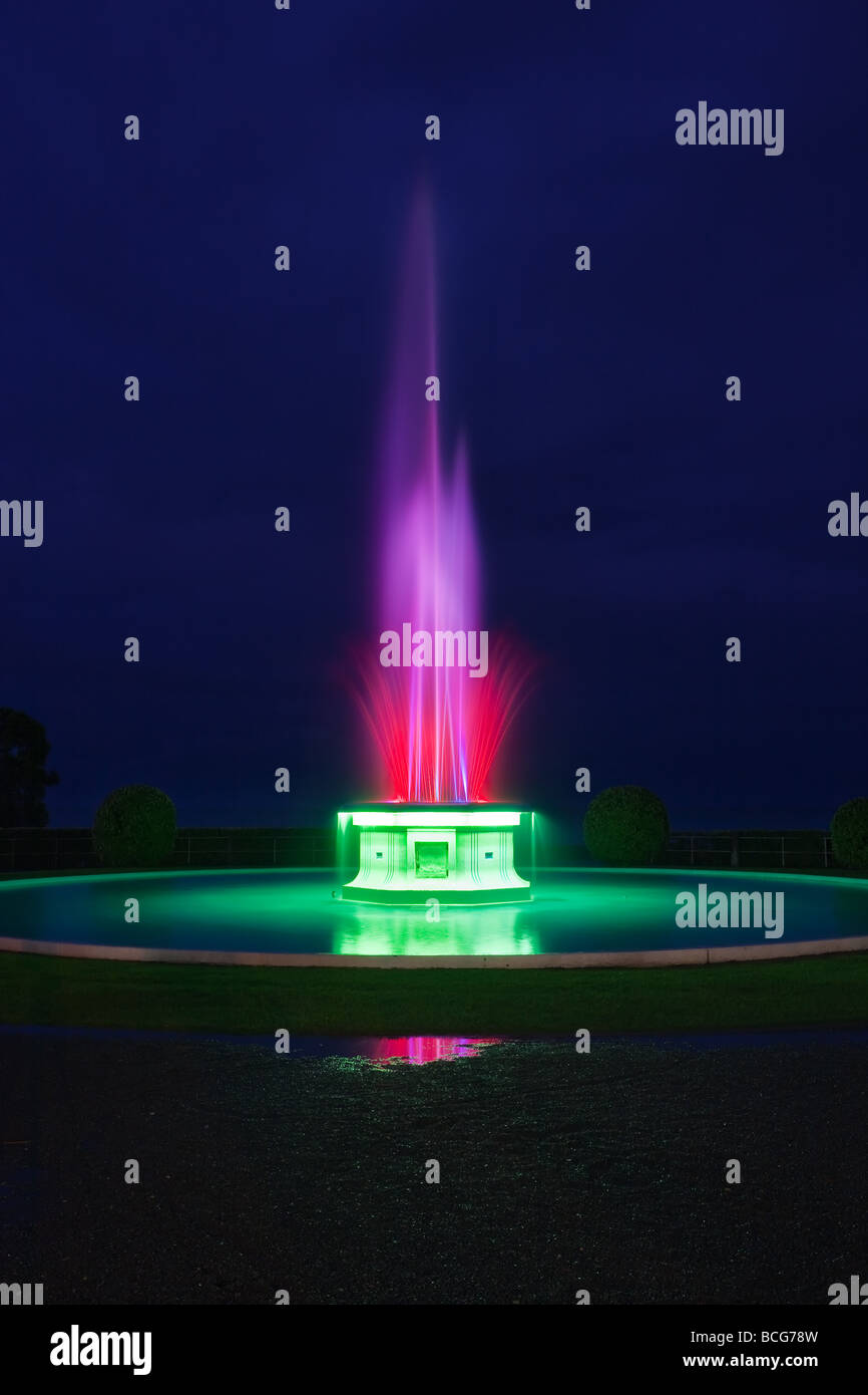 Tom Parker Fountain, Napier, North Island, New Zealand - Stock Image