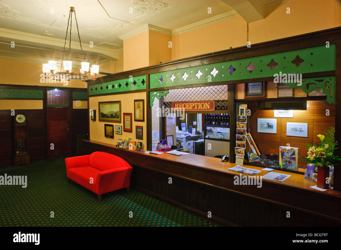 Napier new zealand masonic hotel stock photos napier new for Deco hotel napier