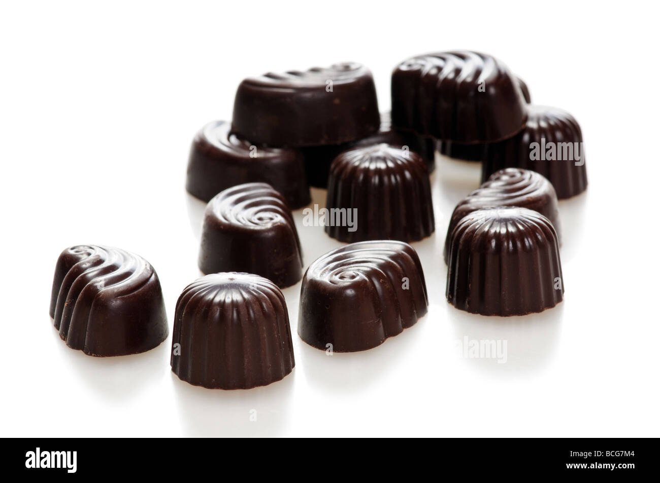 chocolate candy - Stock Image