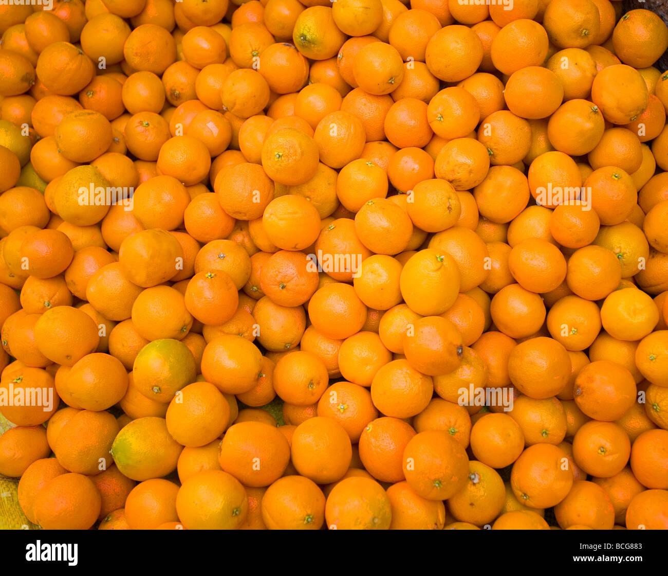 Moroccan Oranges Stock Photo
