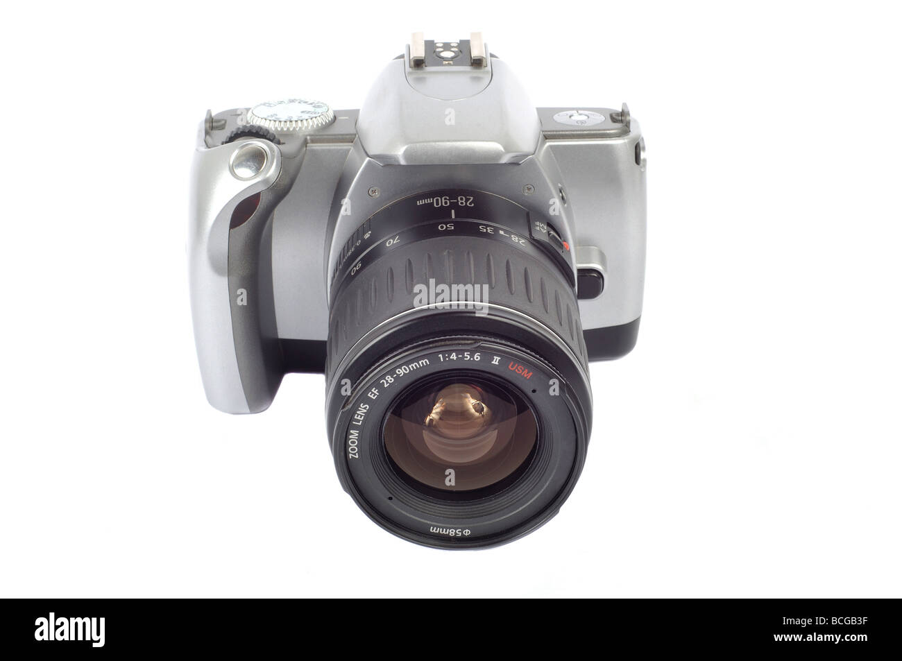 FIlm EOS SLR Camera - Stock Image