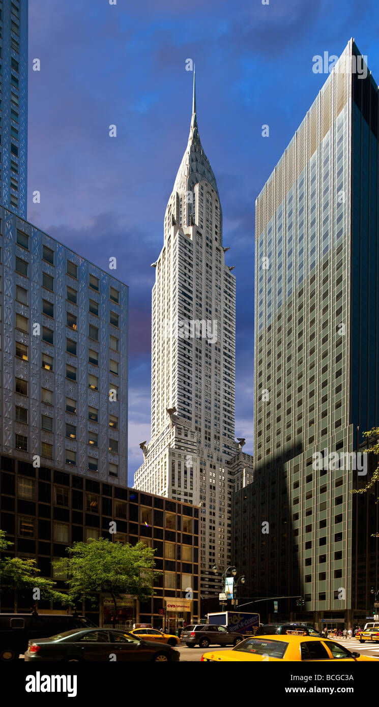 Chrysler Building in New York City - Stock Image