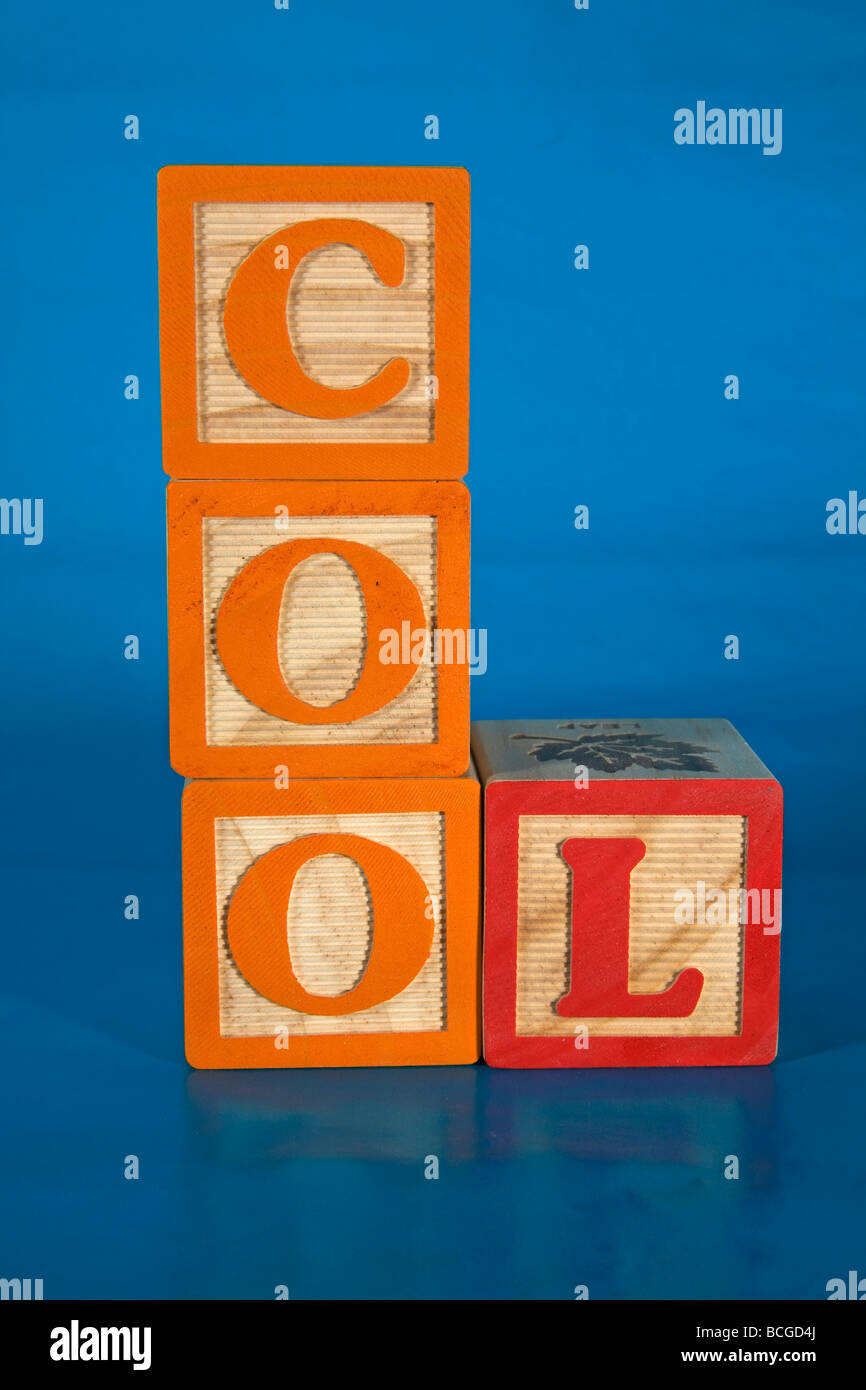 Cool cool stuff cool dude cold icy cooler - Stock Image