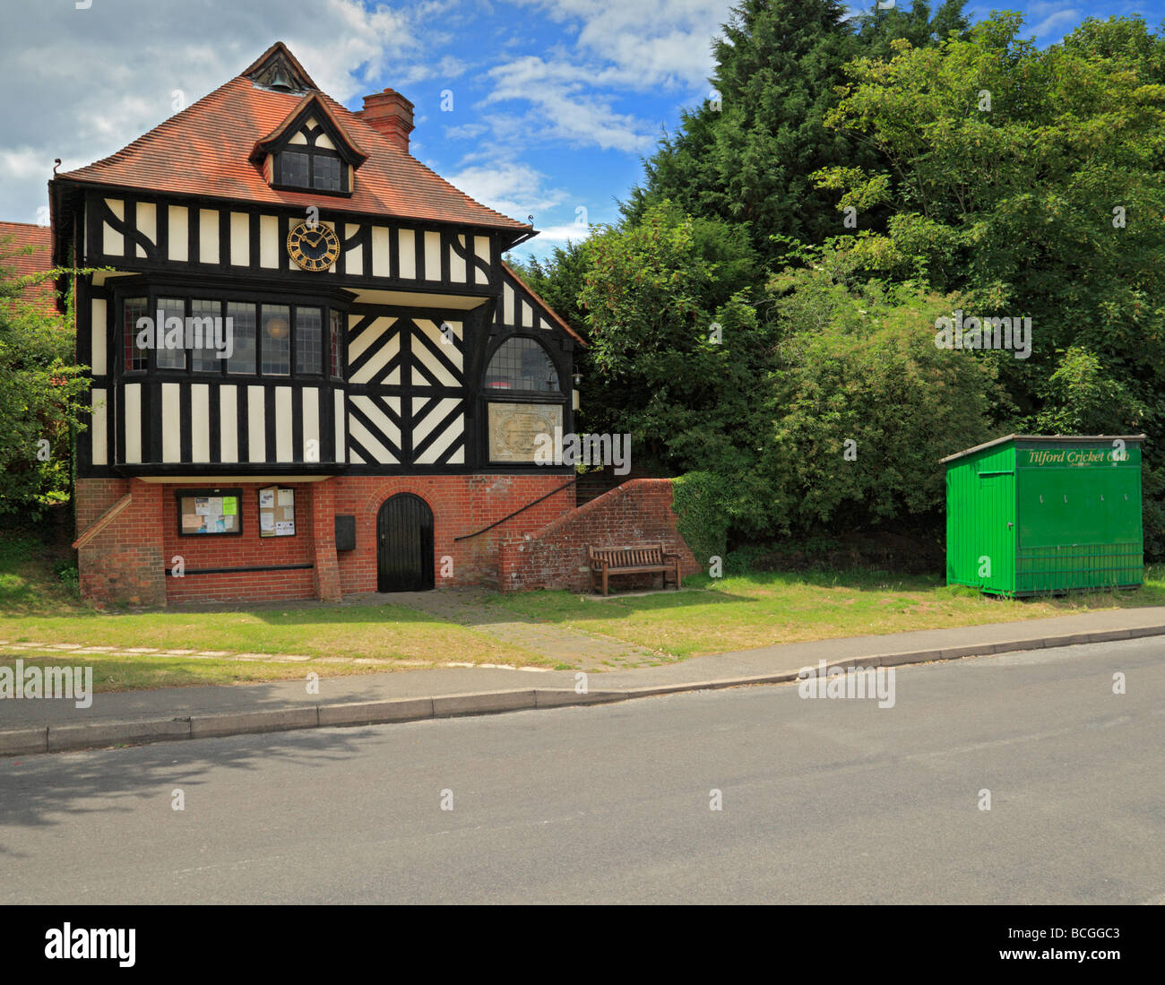 Tilford Village Hall Surrey England UK - Stock Image