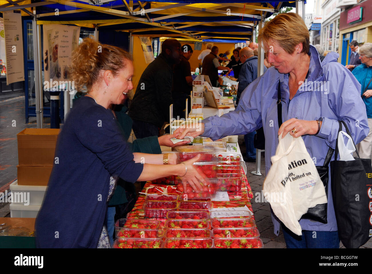 Alton Food Festival 2009, Alton, Hampshire, UK. - Stock Image