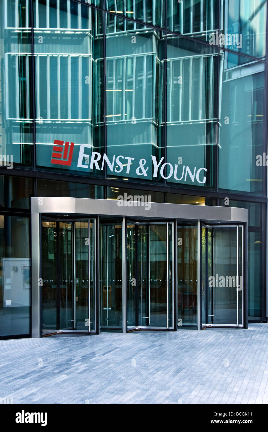 Ernst and Young More Place London - Stock Image