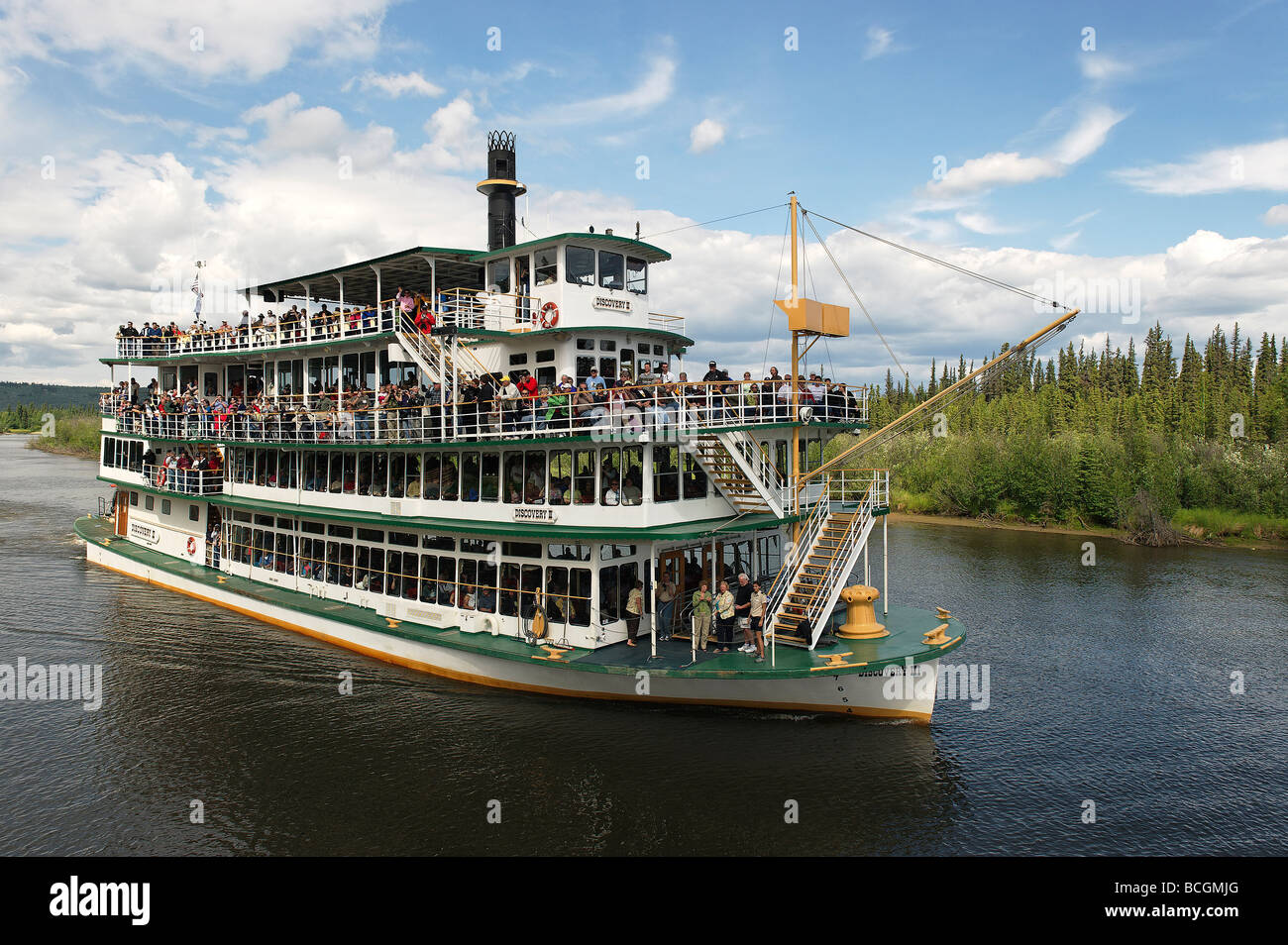 Riverboat Discovery Tour