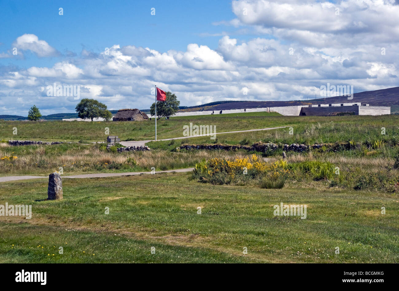 National Trust for Scotland visitor centre at Culloden Moor battle