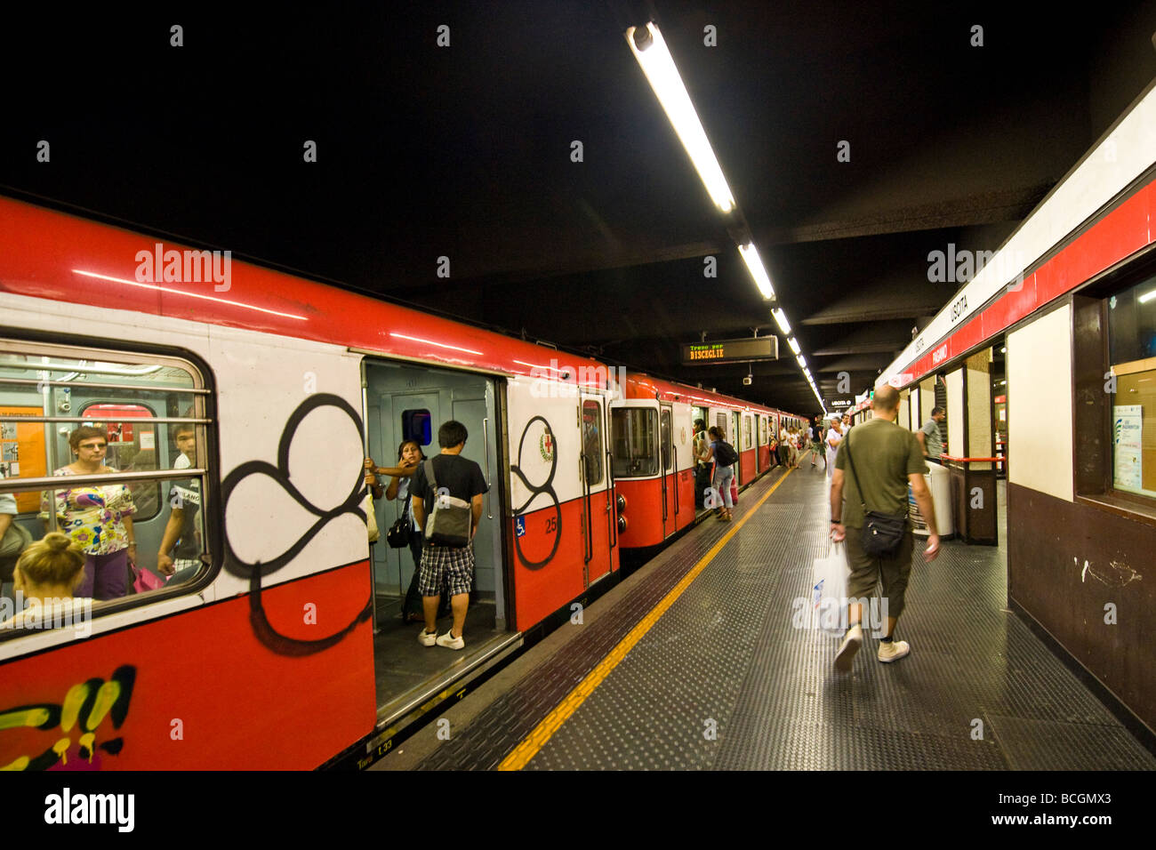 Sfm Subway Map.Milan Subway Stock Photo 24953883 Alamy