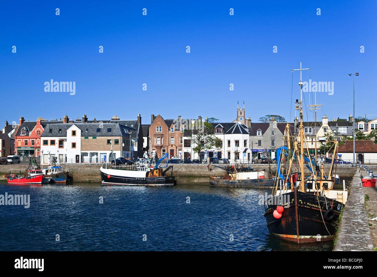 Stornoway harbour, Isle of Lewis, Outer Hebrides, western isles, Scotland, UK 2009 - Stock Image